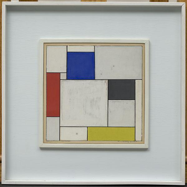 Theo van Doesburg, Composition décentralisée, 1924