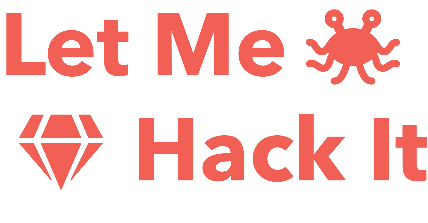 Let Me Hack It logo