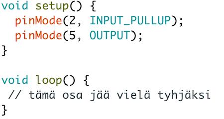 kytkimen koodi